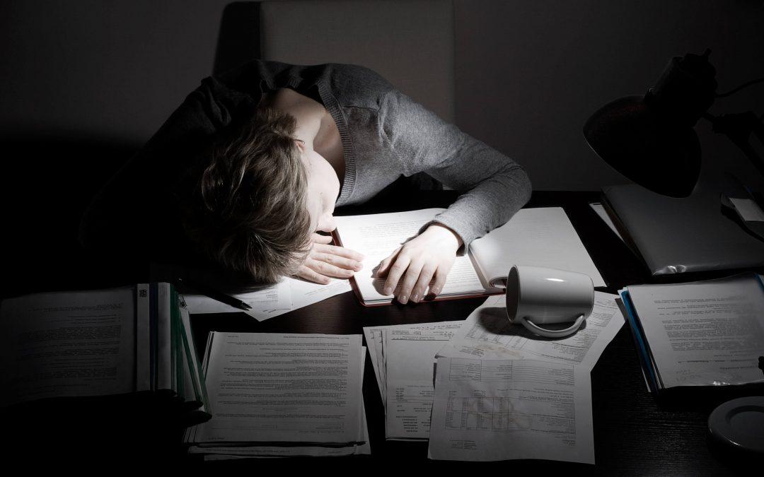 Feeling exhausted